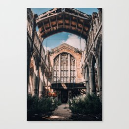 Abandoned Church, Gary IN Canvas Print