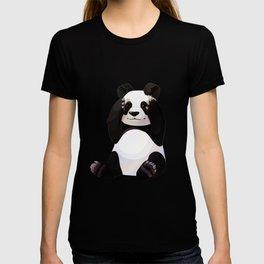 Cute big panda bear T-shirt