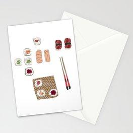 Japanese Sushi Stationery Cards