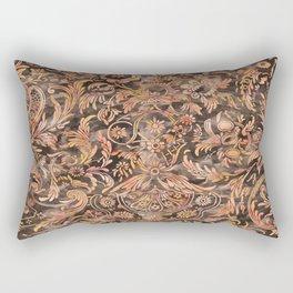 Watercolor Damask Pattern 04 Rectangular Pillow