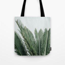 Green Palms Tote Bag