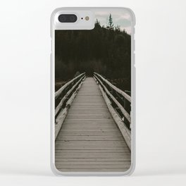 Lead Me On Clear iPhone Case