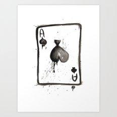 Be an Ace Art Print