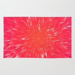 Mandala Flower || Rose Rug