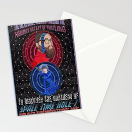 Space Time Hole 7 Stationery Cards