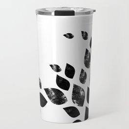 Charred Leaves Travel Mug