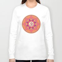 ohm Long Sleeve T-shirts featuring Ohm by TypicalArtGuy