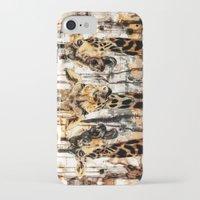 giraffes iPhone & iPod Cases featuring Giraffes by RIZA PEKER