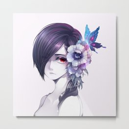 Beauty Touka Kirishima Metal Print