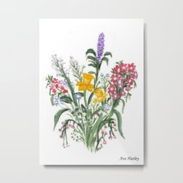 Spring Bouquet by Ave Hurley Metal Print