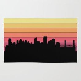 Sacramento Skyline Rug