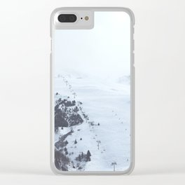 After the snow comes the sun Clear iPhone Case