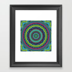 Hippie Mandala 18 Framed Art Print
