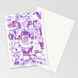 Echoes of the past Stationery Cards