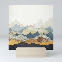 Distant Peaks Mini Art Print