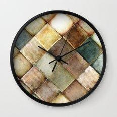 diamond path Wall Clock