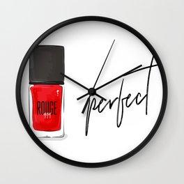 perfect nail polish Wall Clock
