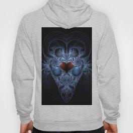 Fractal Art - Alien Heart Hoody