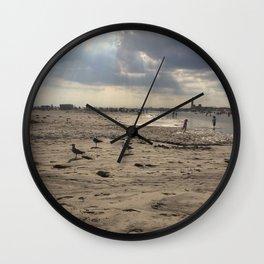 Second beach Wall Clock