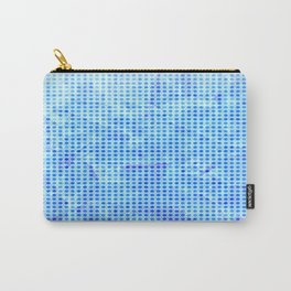 Pale Blue Dots Carry-All Pouch
