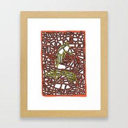 Landorms Series - StoneRoses #14 Framed Art Print
