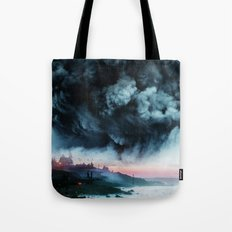 Atomic Boy Tote Bag