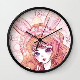 bunbunjii *GirlsCollection* Wall Clock
