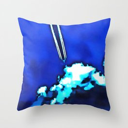 Nothing To Hide Throw Pillow