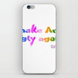 Make Art Ugly Again iPhone Skin