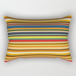 Modern Stripe Horizontal Simple Playful Kids Room Home Office Rectangular Pillow