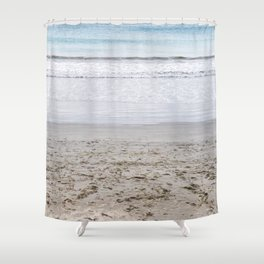 b e a c h Shower Curtain
