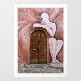 Door of Dozza Art Print
