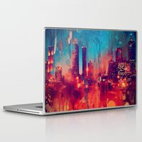 atlanta Laptop & iPad Skins featuring Graffiti Atlanta  by Danielle DePalma