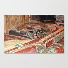 Landspeeder Cockpit Canvas Print