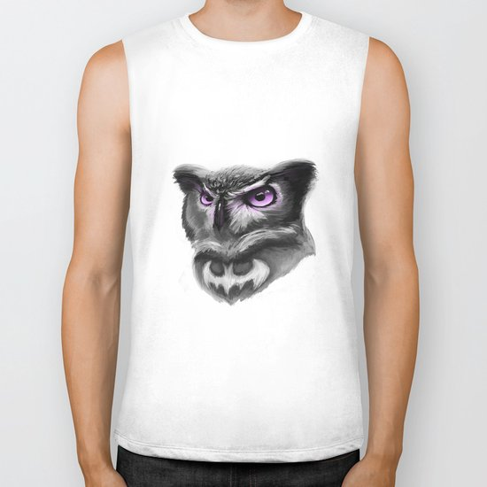 Magic owl Biker Tank