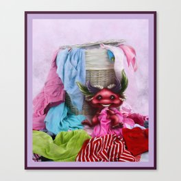 Are you missing any sock? - ¿Te falta un calcetín? Canvas Print