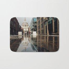 London and reflection Bath Mat