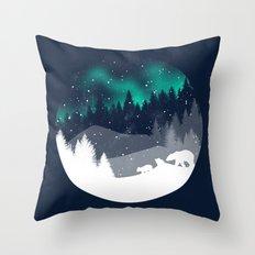 Stardust Horizon Throw Pillow