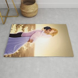 Feyre and Rhysand - A Romantic Sunset Rug