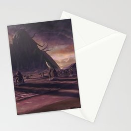 Cthulhu fhtagn no more Stationery Cards