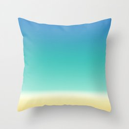 Sea Beach Throw Pillow