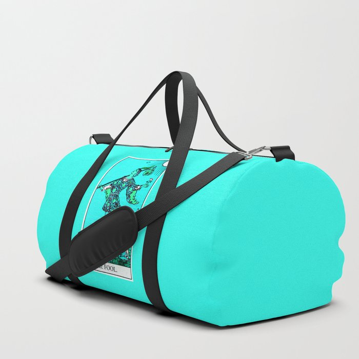 0. The Fool- Neon Dreams Tarot Duffle Bag