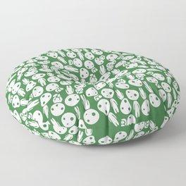 Hayao Miyazaki's Kodamas Floor Pillow
