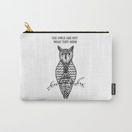 Twin Peaks - The Owls Are Not What They Seem Carry-All Pouch