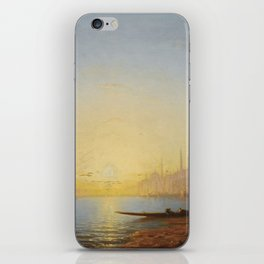 Amédée Rosier 1831 - 1898 FRENCH VIEW OF CONSTANTINOPLE iPhone Skin