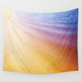 Rainbow Beach Wall Tapestry