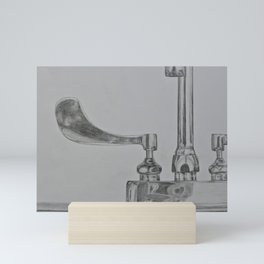 Sink Zoom Mini Art Print