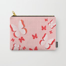 Cut out paper butterfly Carry-All Pouch