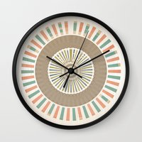 infinity Wall Clocks featuring Infinity by Tammy Kushnir