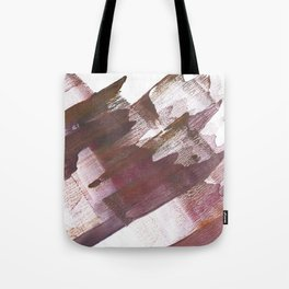 Wine brown abstract Tote Bag